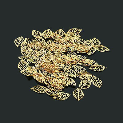 Metal Hair Clip Pin Female Hollow Leaf Hair Claw Headwear J