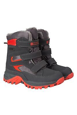 Mountain Warehouse Chill Kids Boots Waterproof with Isotherm and Deep lugs