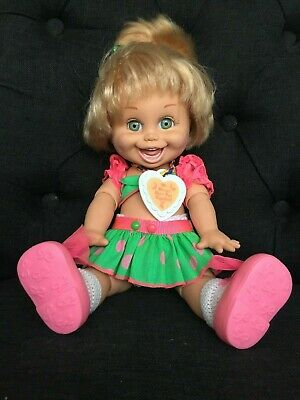 Galoob Baby Face Doll * So Funny Natalie * In Original Outfit