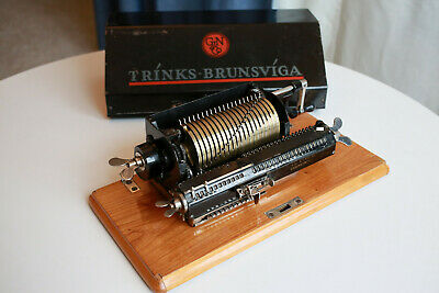Trinks Brunsviga MDII Triplex 1911-1925 Rare Mechanical Calculator