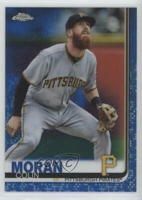 2019 Topps Chrome Blue Refractor/150 #65 Colin Moran Pittsburgh Pirates Card
