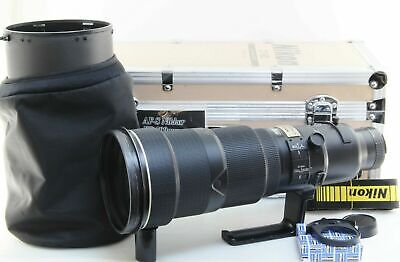 Has an issue Nikon ED AF-S NIKKOR 500mm F/4 D II lens with hood