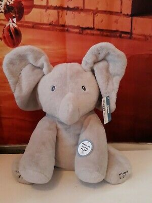 Gund baby Flappy the elephant plush toy Peek-a-boo! Christmas present.