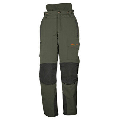 SIP 1SQP Chainsaw Trousers with Front Protection | Olive Green/Black