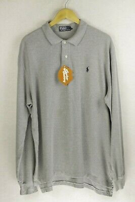 RALPH LAUREN Mens Polo Shirt Long Sleeve ATHLETIC SPORT RELAXED XL X LARGE P96