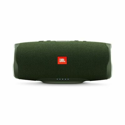 JBL Charge 4 Portable Waterproof Wireless Bluetooth Speaker (Green). Authorized
