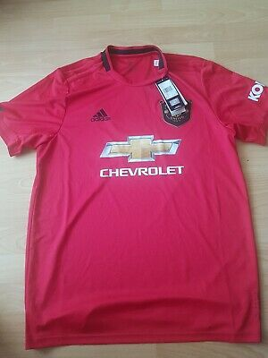 Manchester United Home Shirt 19/20 brand new with tags 100% genuine size small