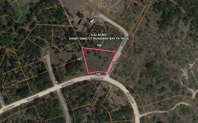 Texas - 0.42 Acre Lot - No POA dues – Close to the Lake!