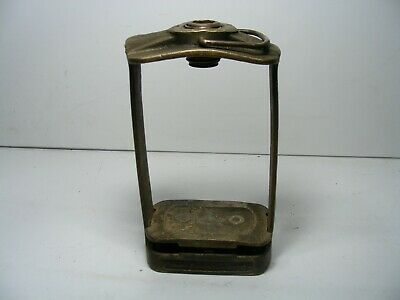 Vintage Brass Hanau Dental Denture Mold Press