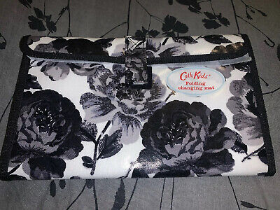 CATH KIDSTON FOLDING CHANGING Mat Grey And White Floral Brand New