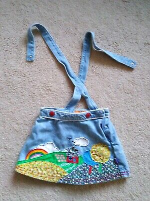 Little bird by jools oliver 12-18 Months Baby Girls Dress Rainbows