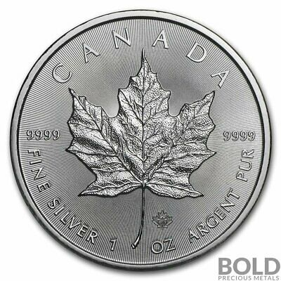 SKU#161357 2018 Canada 1 oz Silver Maple Leaf MS-70 NGC Early Release