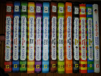 Diary Of A Wimpy Kid Complete Set 1-12 Hardcover, nice!