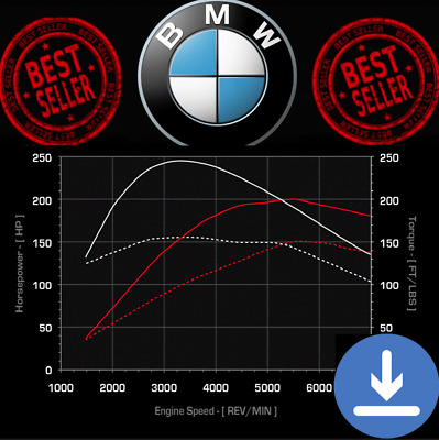 BMW | ECU Map Tuning Files | Stage 1 + Stage 2 | Remap Files