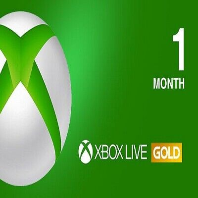 Xbox Live GOLD Subscription Card 1 Month GLOBAL XBOX LIVE - delivery per email