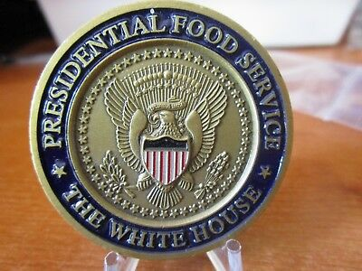 Presidential Food Service The White House USN POTUS Challenge Coin #2923.