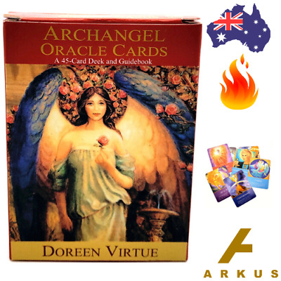ARCHANGEL Oracle Cards - 44 Card Deck by Doreen Virtue NEW Angel Cards