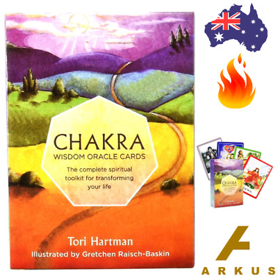 CHAKRA Wisdom Oracle Cards - 49 Card Deck by Tori Hartman NEW