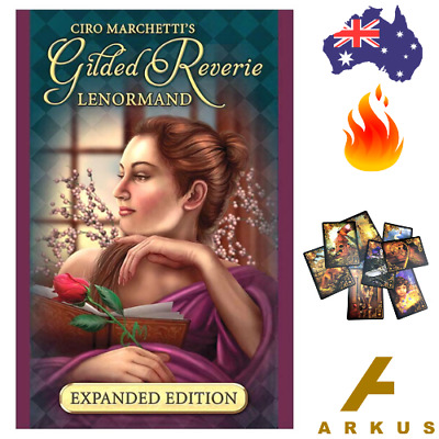 GILDED REVERIE Lenormand Oracle Cards - 47 Card Deck Expanded Edition NEW