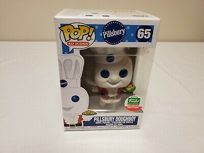 NEW Funko POP! #65 Pillsbury Doughboy Ad Icons Cyber Monday Shop Exclusive LE