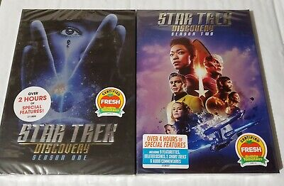Star Trek Discovery Season 1 and 2 DVD Bundle Free Shipping! USA