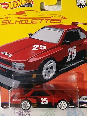 HOT WHEELS CAR CULTURE SILHOUETTES NISSAN SKYLINE SILHOUETTE Real/Riders new b