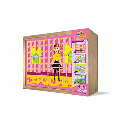 The Wiggles Emma 4 in 1 Jigsaw Puzzle for Kids Toy