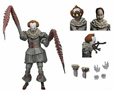 "NECA IT - 7"" Scale Action Figure - Ultimate Pennywise The Dancing Clown"