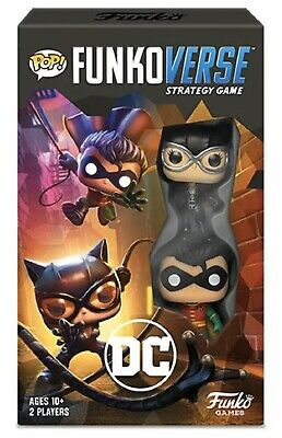 Funko Pop FunkoverseDC 101 Strategy Board Game #42646 Brand New Collectible Toy
