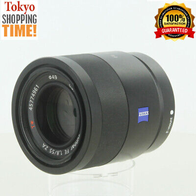 Sony Carl Zeiss Sonnar T* FE 55mm F/1.8 ZA for E-Mount Black Lens Japan