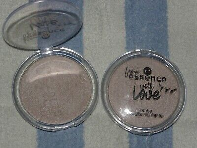 """Poudre JUMBO Highlighter ROSE ARGENTE """"From ESSENCE with LOVE"""" ESSEHiNCE NEUF"""