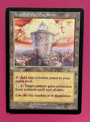MTG MERCADIAN MASQUES Excellent Condition Tower of the Magistrate