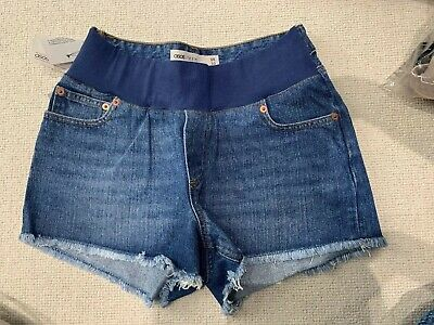 ASOS Denim Maternity Shorts Size 10