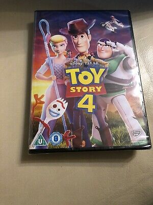 Toy Story 4 DVD 📀 Woody, Buzz And The Gang. New Sealed.