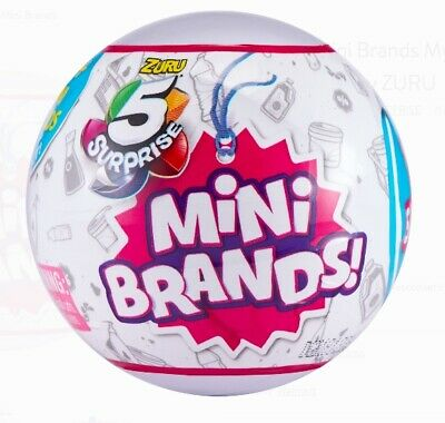 NEW Mini Brands 2 (two) Mystery Capsule Collectible Toy by ZURU 5 Surprise