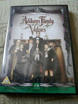 Addams Family Values, The Sequel, Region 2 Dvd, Brand New And Sealed