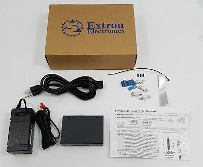 New Extron DTP HDMI 301 TX Transmitter with AC adapter