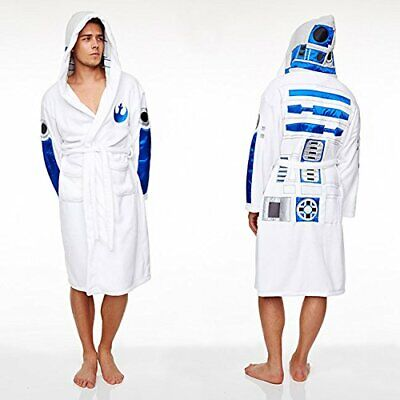 Mens Star Wars R2-D2 Bath Robe / Dressing Gown - New with Tags