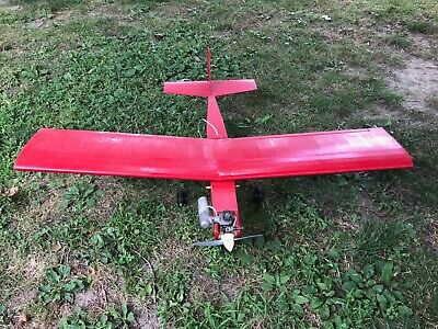 Radio Controlled Trainer Airplane w/ new motor Servos never flown