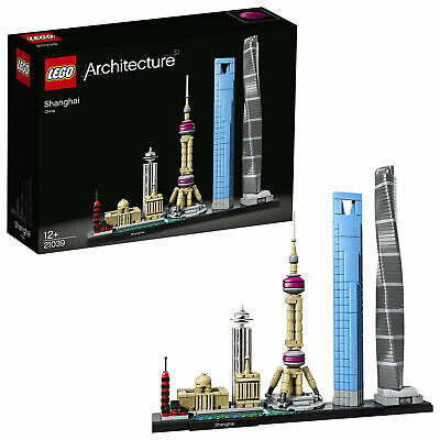 LEGO Architecture Shanghai 21039 - NEW & BOXED - FREE NEXT WORKING DAY DELIVERY
