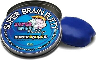 Joker Entertainment Super Metallic Brain Putty Silber