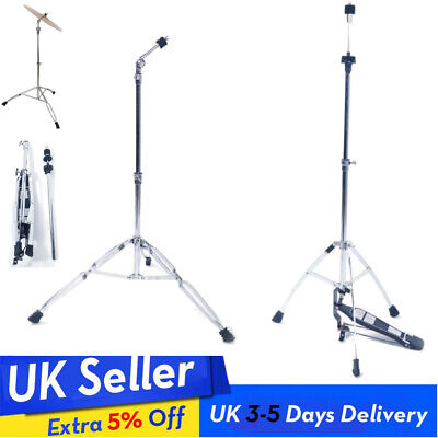 Cymbal Boom Stand Mount Adapter Double Braced Percussion with Pedal UK