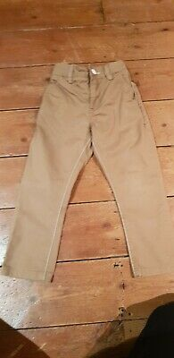 Boys Next chino style trouser size 4-5 years