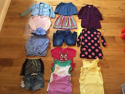 Girls Bundle Of Clothes, Ages 5-6 Years Inc Next