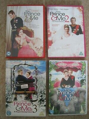 The Prince & Me 1,2,3 & 4 dvd collection