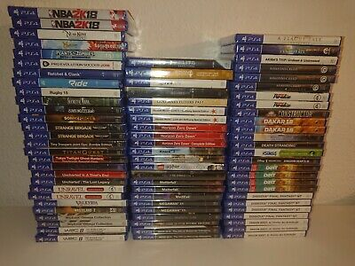 Playstation 4 Spiele Uncharted,Dirt, WRC, NFS,Kingdom Hearts, Spider Man NEU+OVP