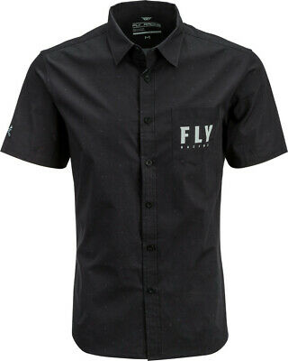 Fly Racing 2020 Adult Pit Shirt Black All Sizes