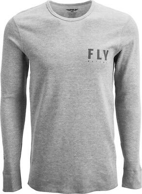 Fly Racing 2020 Adult Thermal Shirt Granite/Black All Sizes