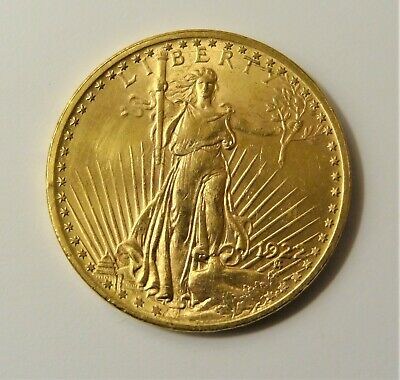Ungraded 1922 $20 St. Gaudens Gold Double Eagle