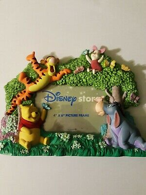 """Disney Winnie the Pooh Picture Frame 4"""" x 6"""""""